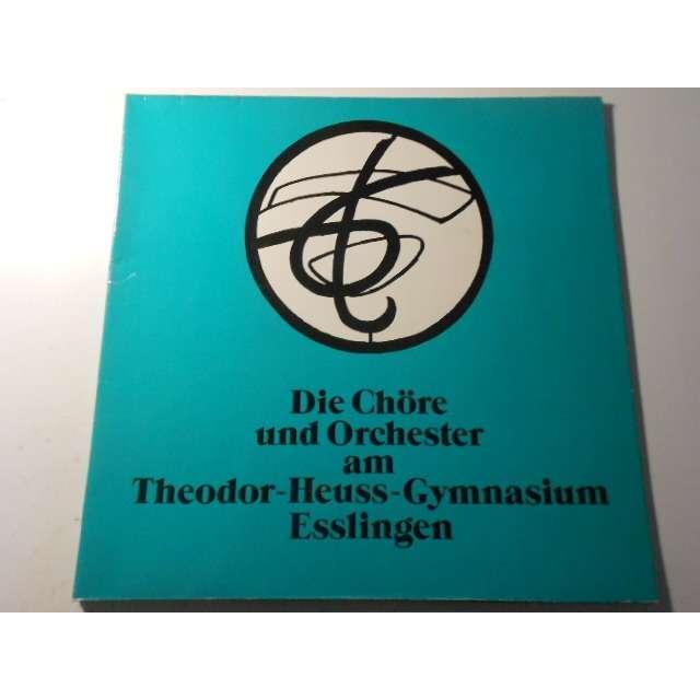 die chore und orchester am theodor heus gymnasium die chore und orchester am theodor heus gymnasium esslingen