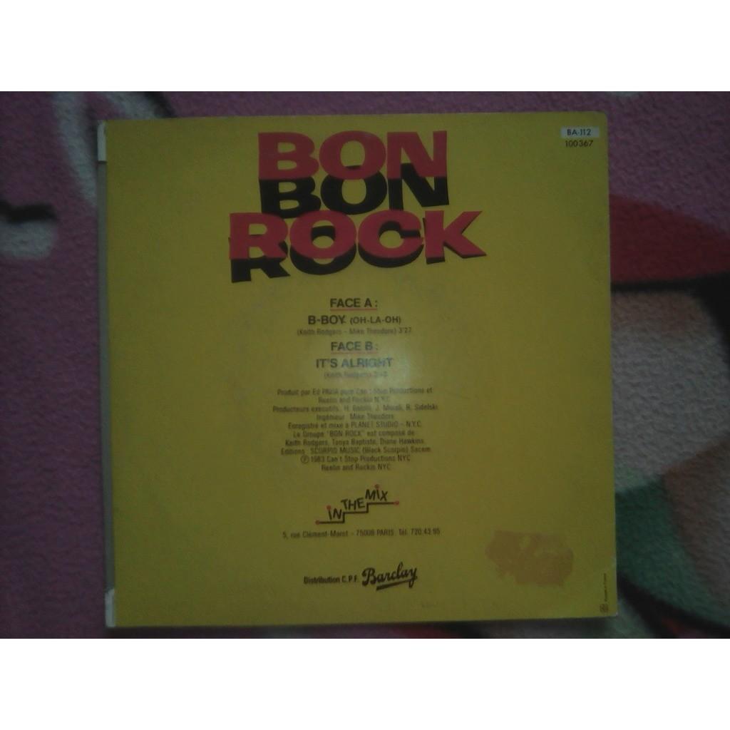 Bon Rock - B-Boy (Oh-La-Oh) (7, Single) Bon Rock - B-Boy (Oh-La-Oh) (7, Single)
