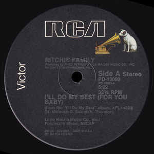 Ritchie Family* - I'll Do My Best (For You Baby) ( Ritchie Family* - I'll Do My Best (For You Baby) (12)
