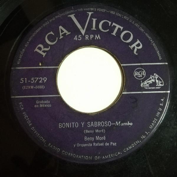 Beny More y su Orquesta Que aguante(guaracha)/Bonito y sabroso(mambo)