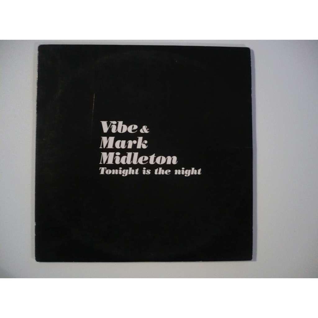 VIBE & MARK MIDLETON TONIGHT IS THE NIGHT promo copy card sleeve
