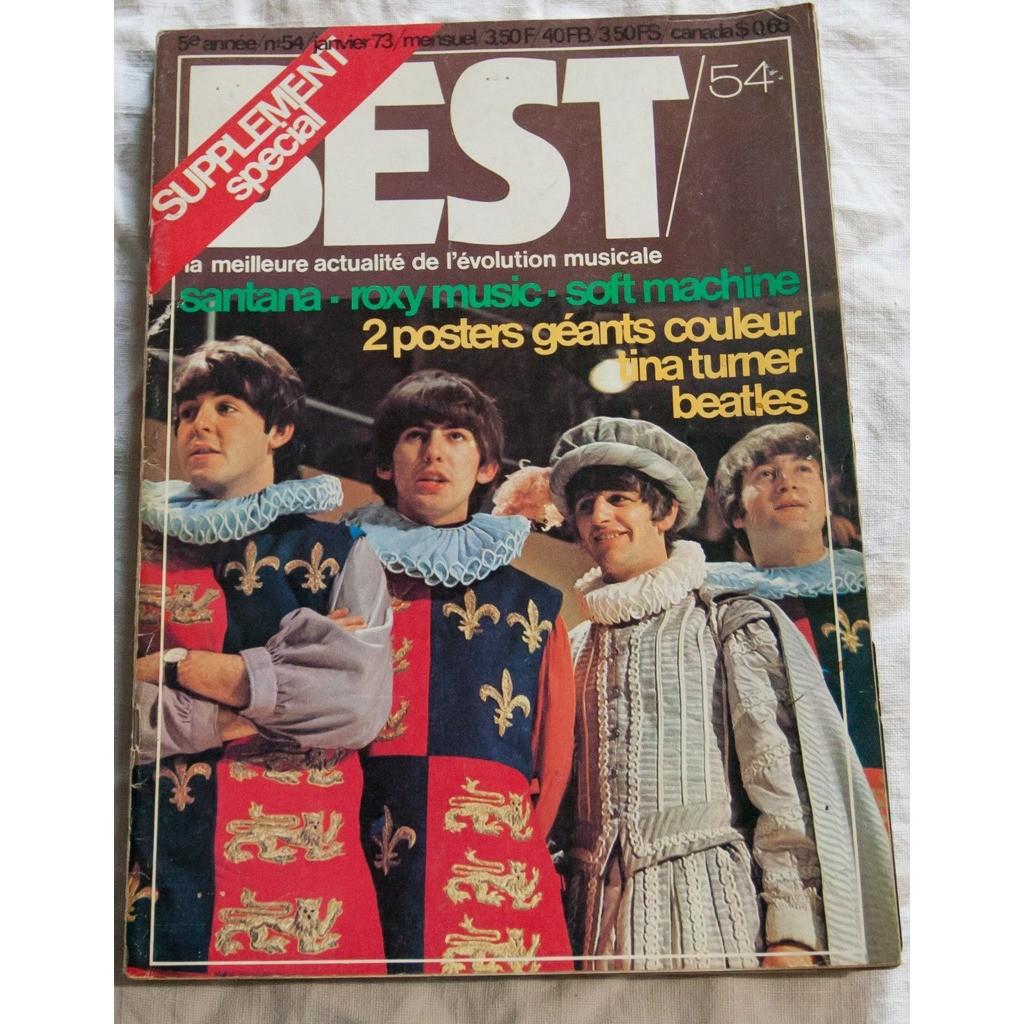Best Magazine 9 Magazines Oct 1972 à Juin 1973 (2 exemplaire offerts)