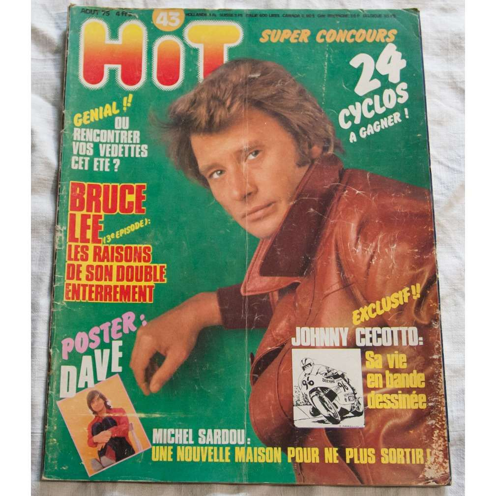 Hit magazine 1975 N° 43 ET 45