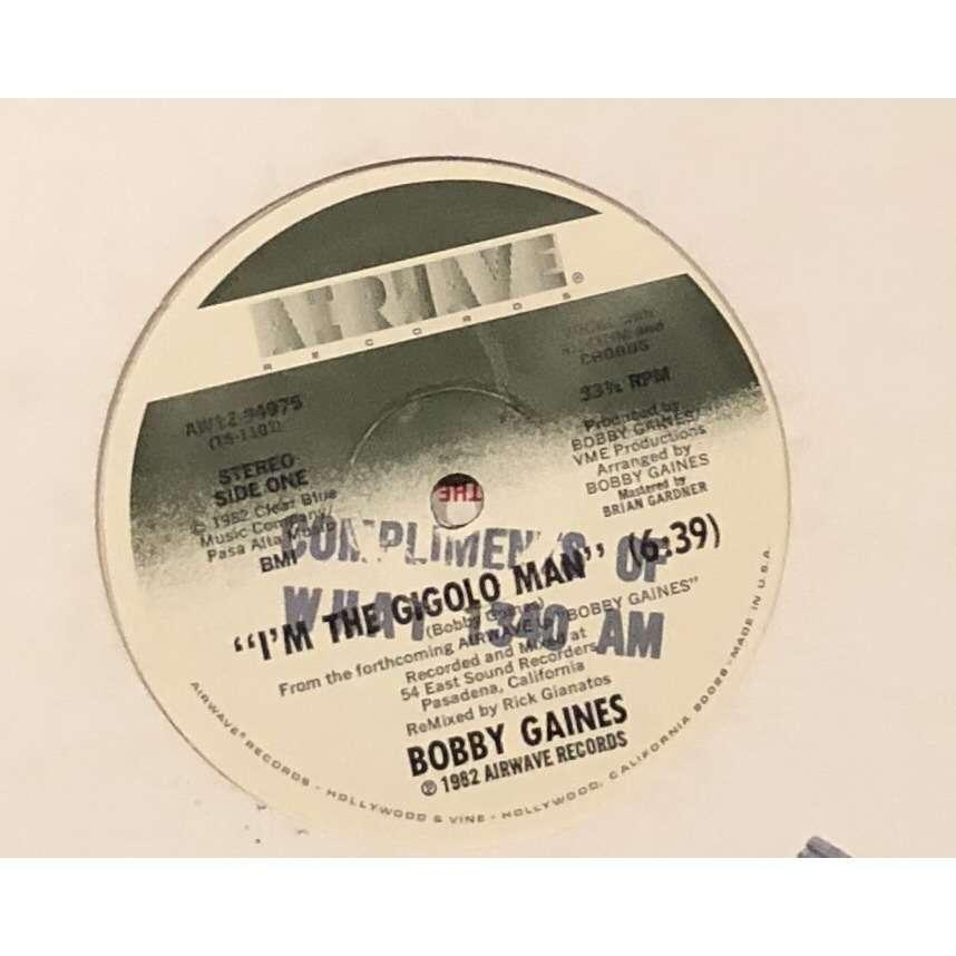 Bobby Gaines I'm The Gigolo Man 1982 USA