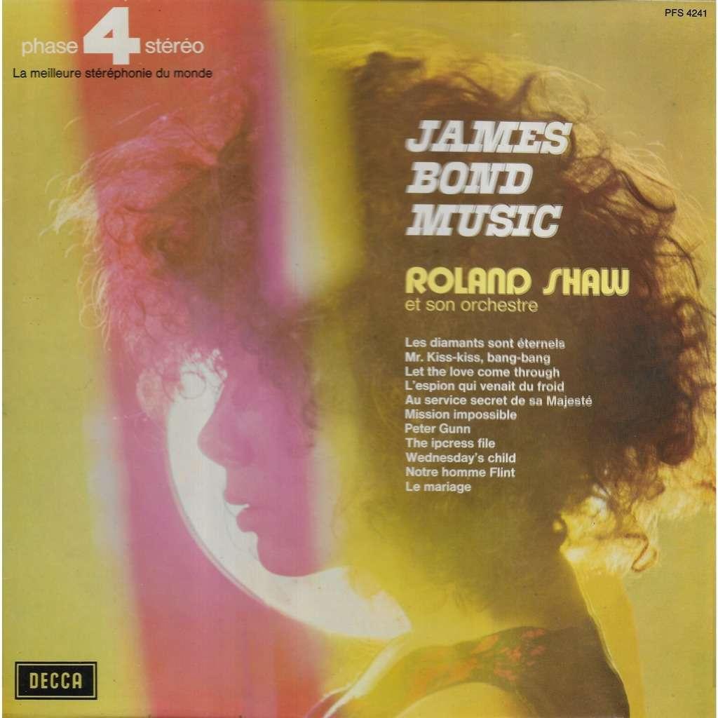Roland SHAW & son Orchestre James Bond Music