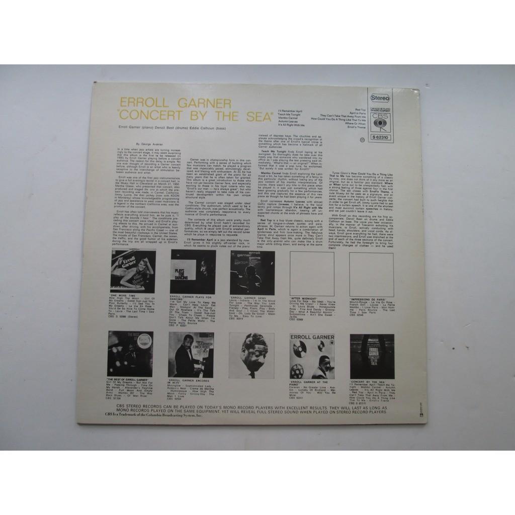 erroll garner LP concert by the sea / Red top
