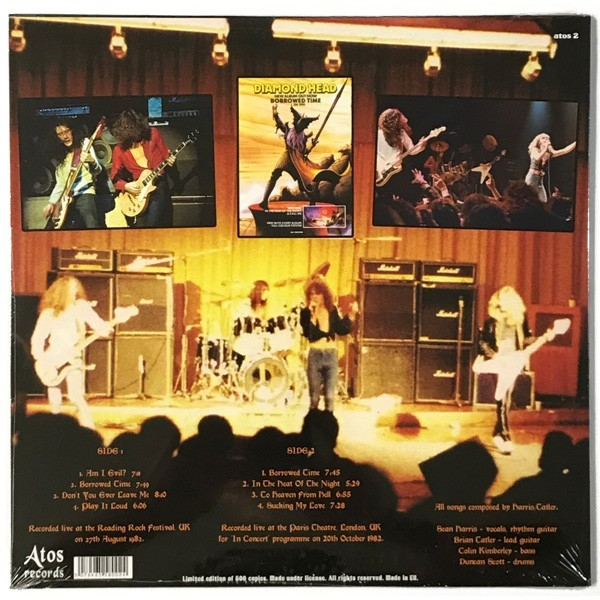 Diamond Head Live At The BBC 1982 (lp)
