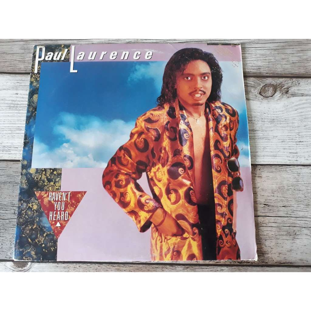 Paul Laurence - Haven't You Heard (LP, Album) Paul Laurence - Haven't You Heard (LP, Album)