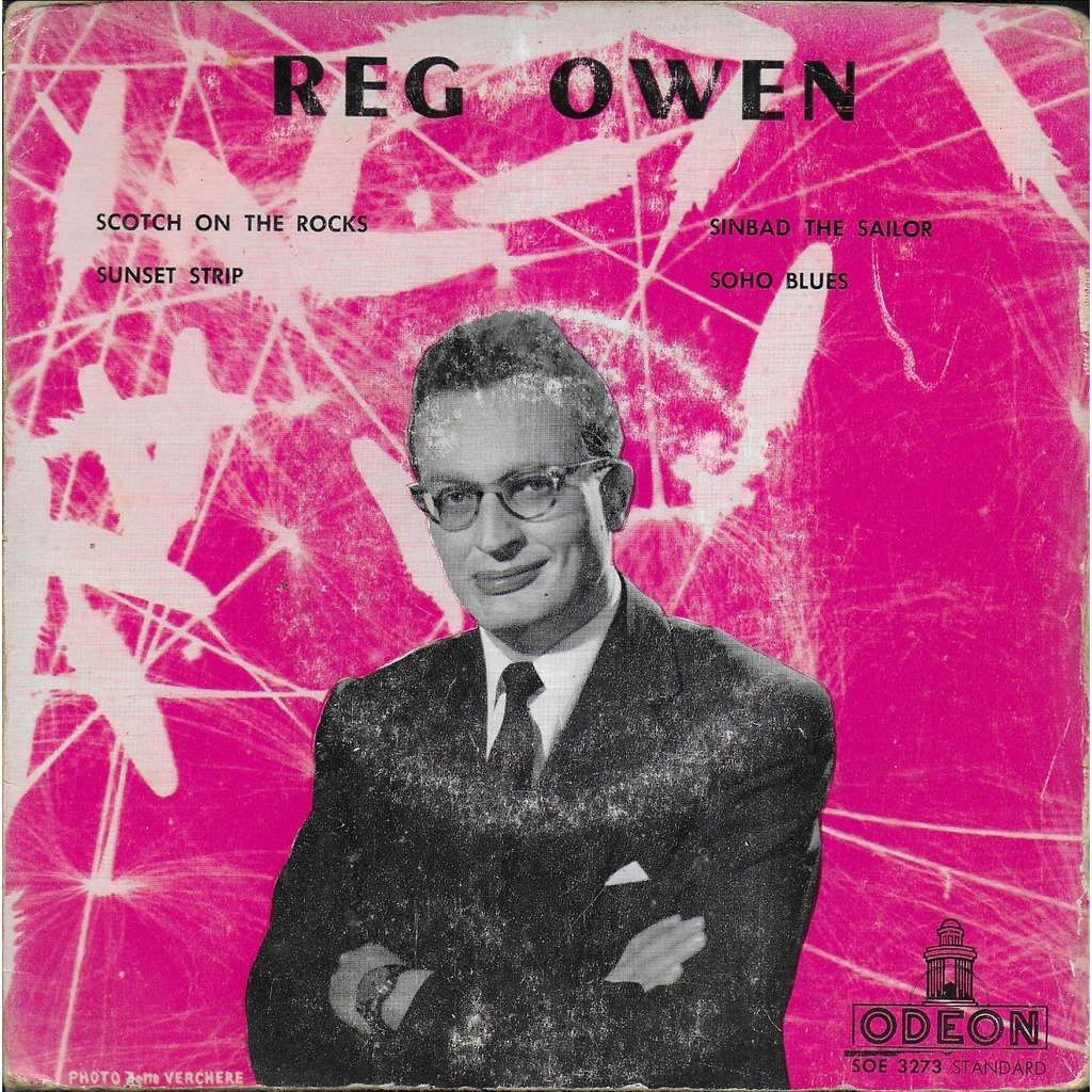 Reg OWEN & his orchestra Scotch on the rocks