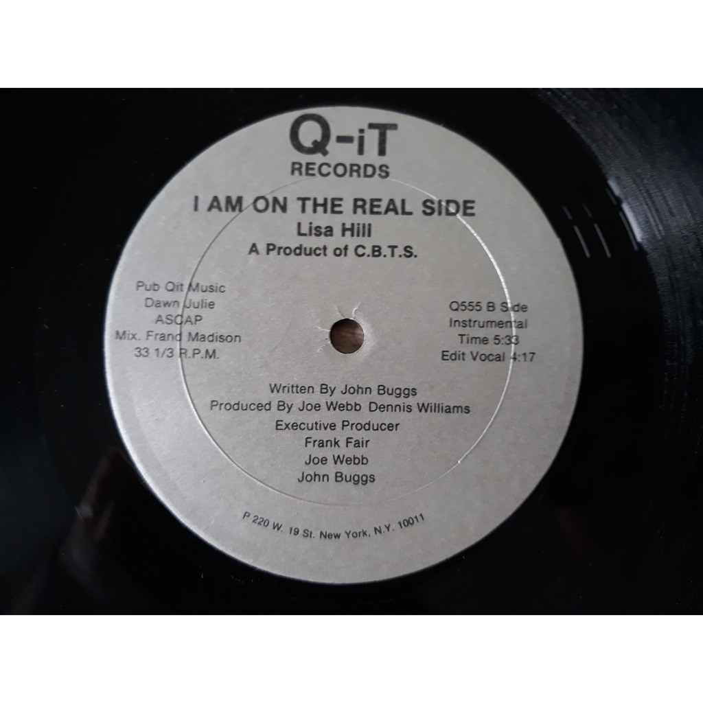Lisa Hill I Am On The Real Side (Vocal)