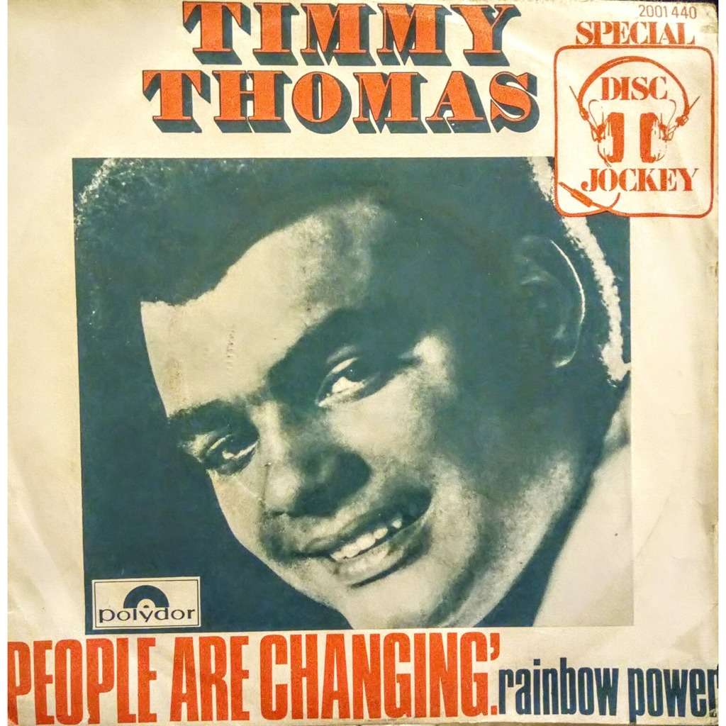 Timmy THOMAS People are changing