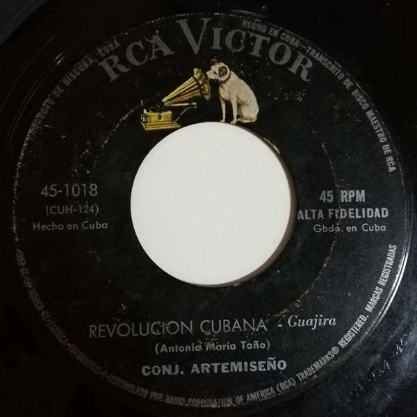 Conjunto Artemiseño Revolucion Cubana(guajira)/Volvio La Conga(conga)