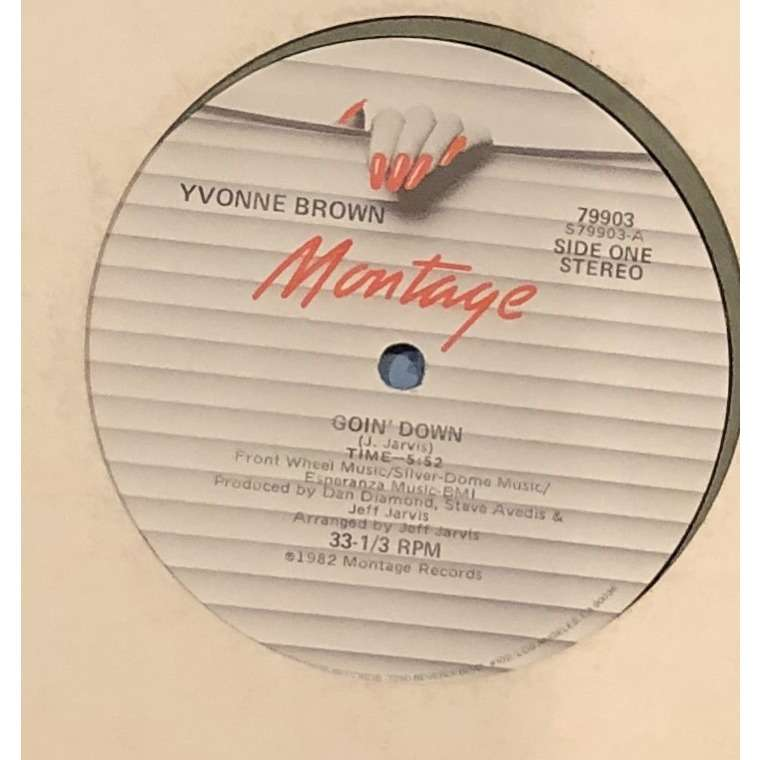 Yvonne BROWN goin' down / king of groove
