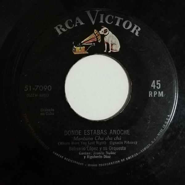 Belisario Lopez Y Su Orquesta Como Esta Muguel(montuno chachacha)/Donde Estabas Anoche(montuno chachacha)