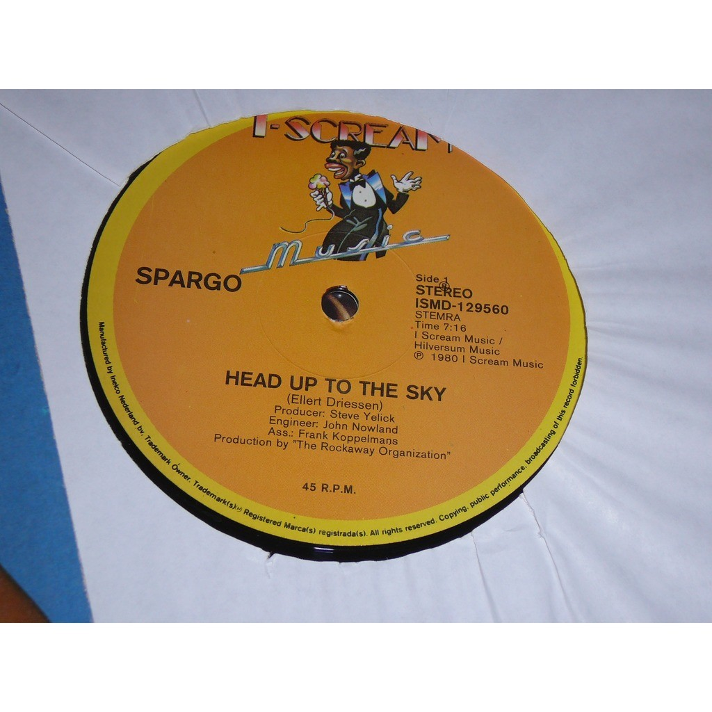 Spargo Head Up To The Sky / Inside Your Heart