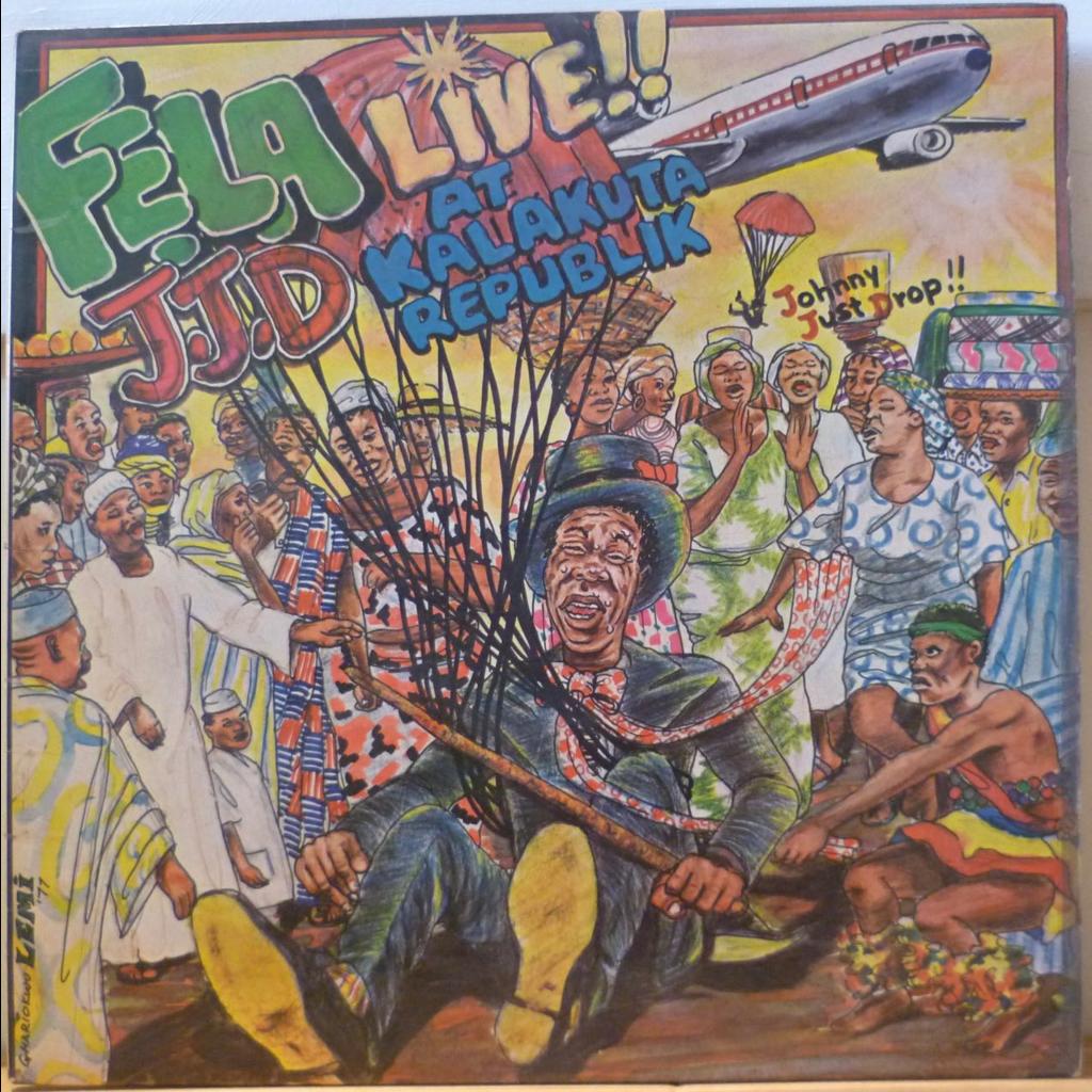 FELA ANIKULAPO KUTI JJD Live at Kalakuta republic