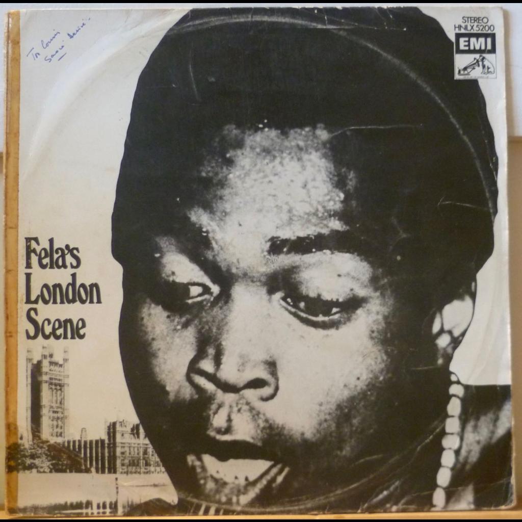FELA RANSOME KUTI and his AFRICA 70 Fela's London scene