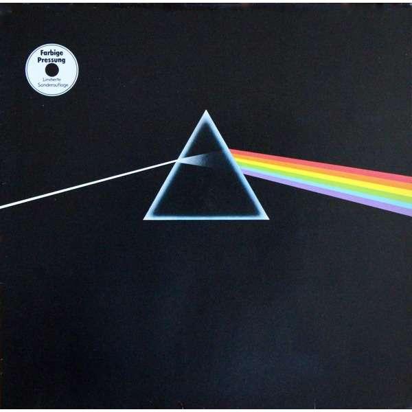 Pink Floyd The Dark Side Of The Moon (German 1977 original ltd 'misspress' 10-trk LP Bronze vinyl gf ps etc.)