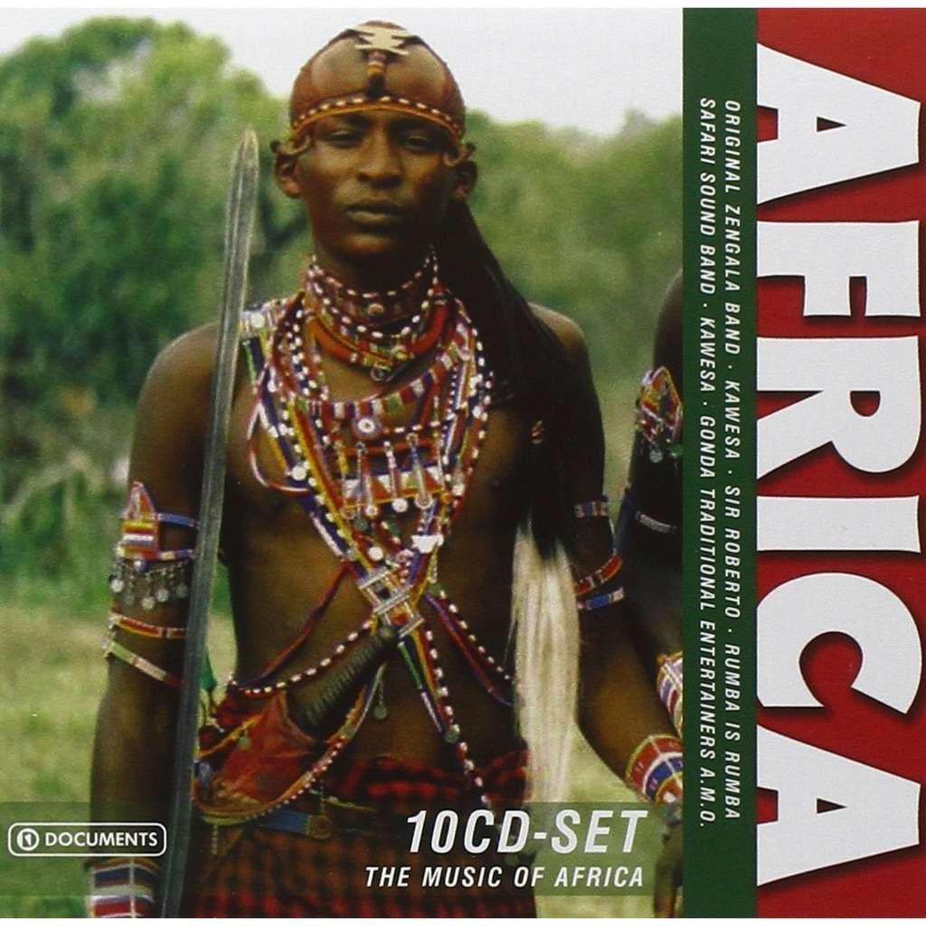 Various Africa 10 CD Box set