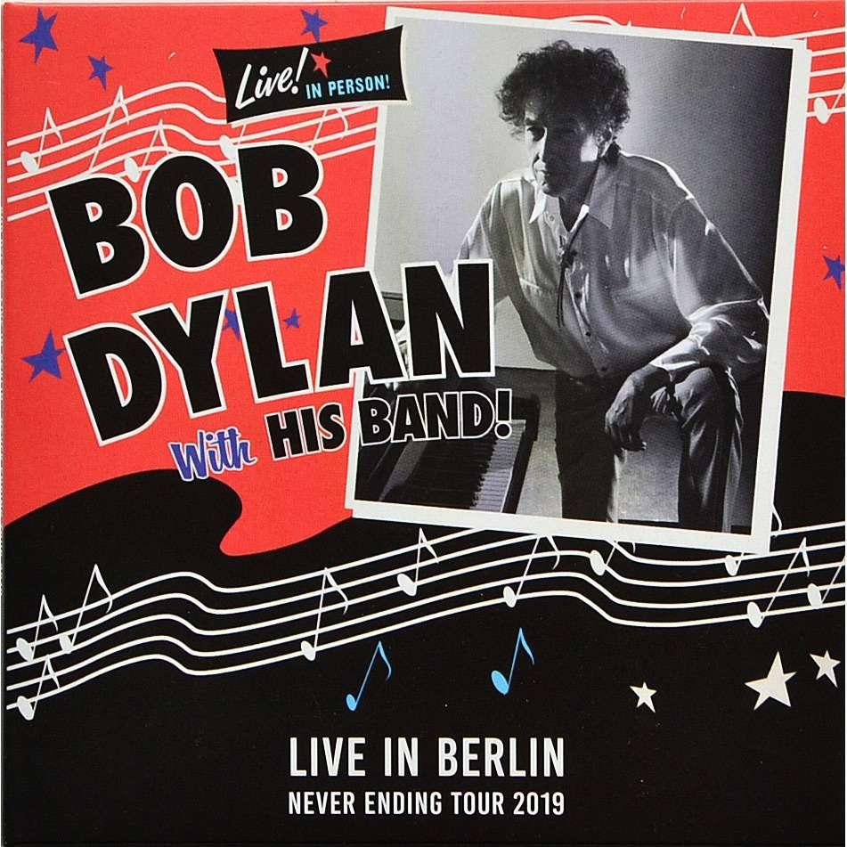 BOB DYLAN Live In Berlin Germany 4 April 2019 Never Ending Tour 2CD digisleeve