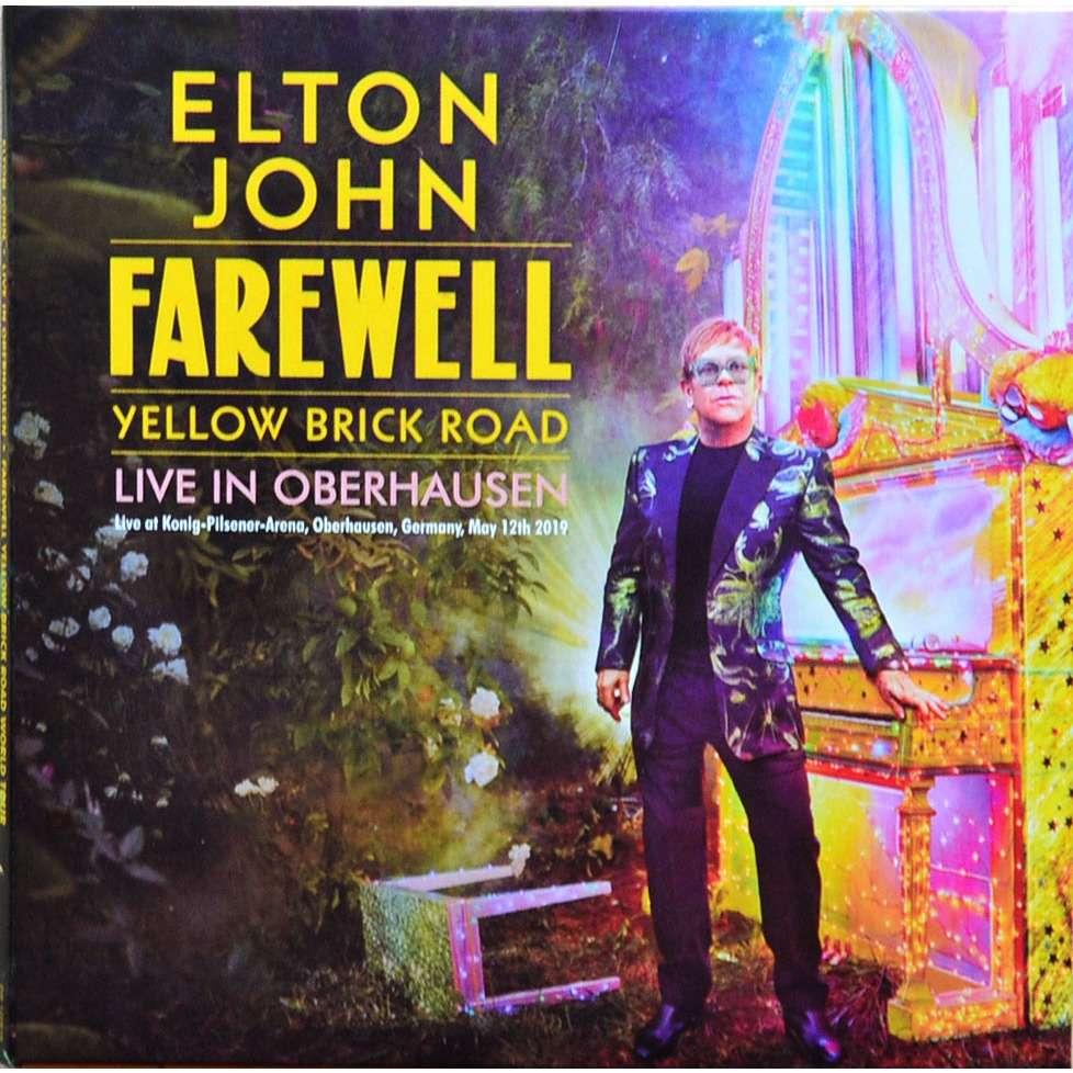 elton john Live In Oberhausen Germany 12May2019 Yellow Brick Road Tour 2CD digisleeve