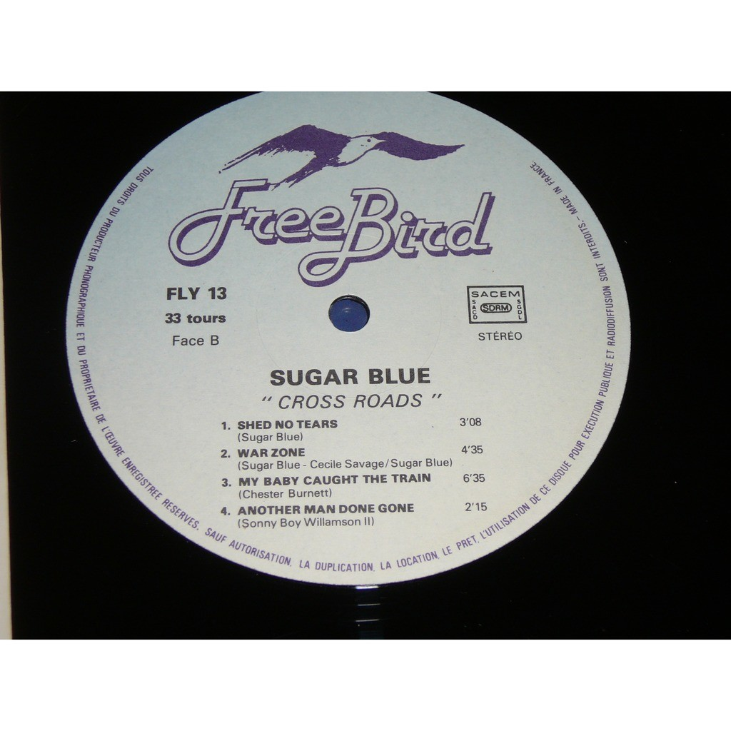 sugar blue cross roads