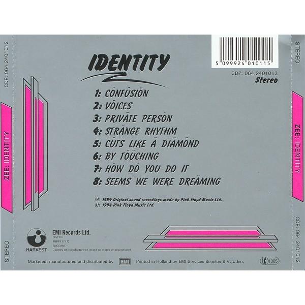 ZEE (feat.Richard Wright) Identity