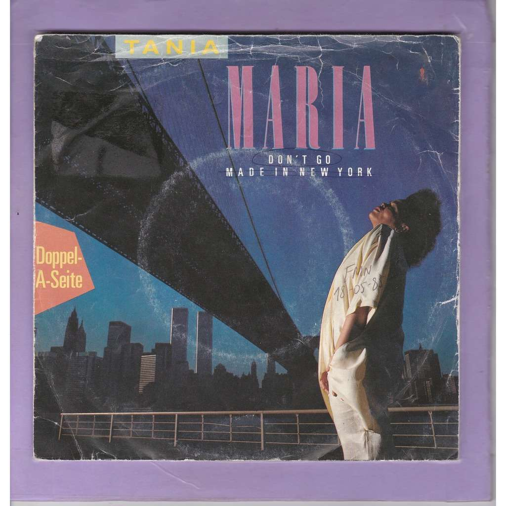 Tania Maria Don't Go - made in New York