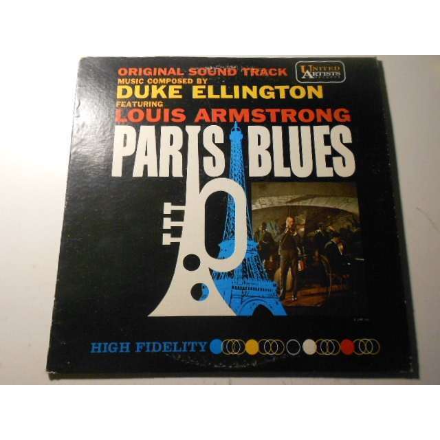 duke ellington louis armstrong paris blues