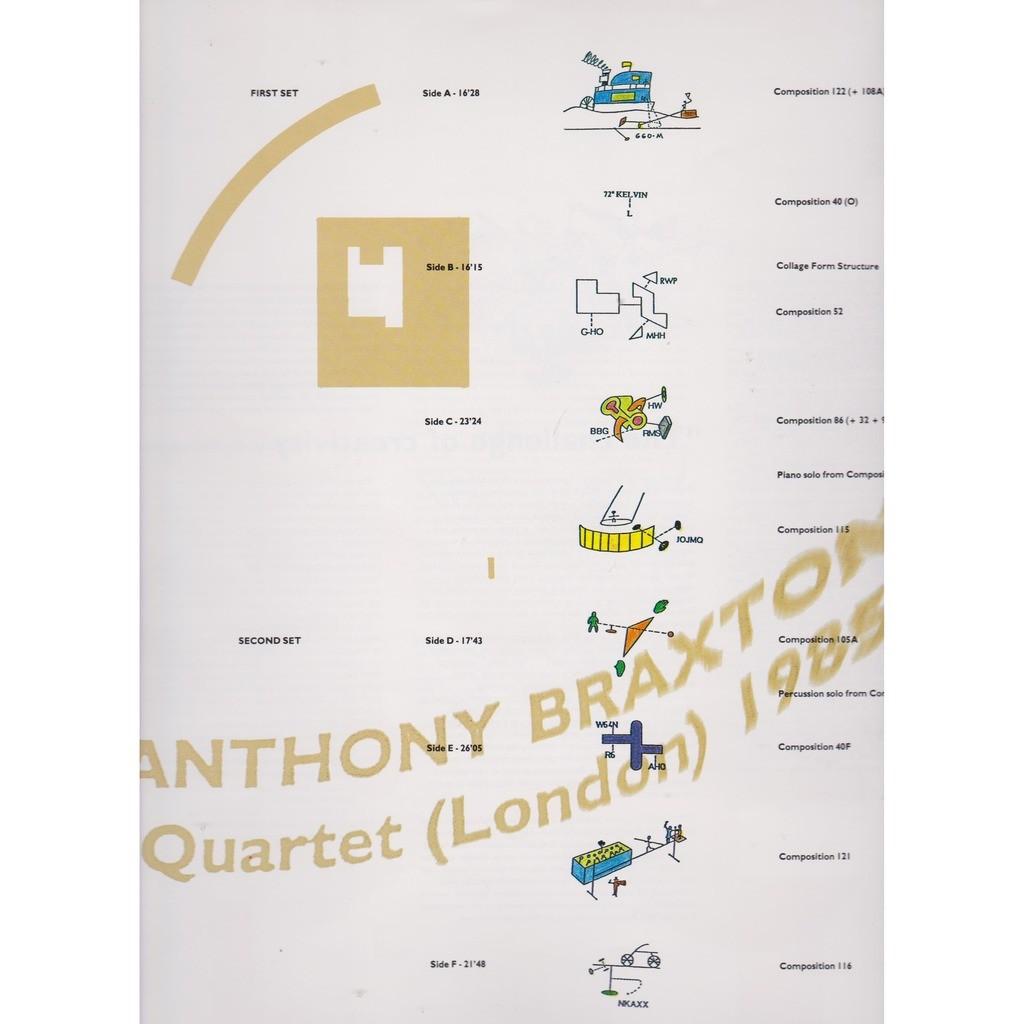anthony braxton quartet london 1985