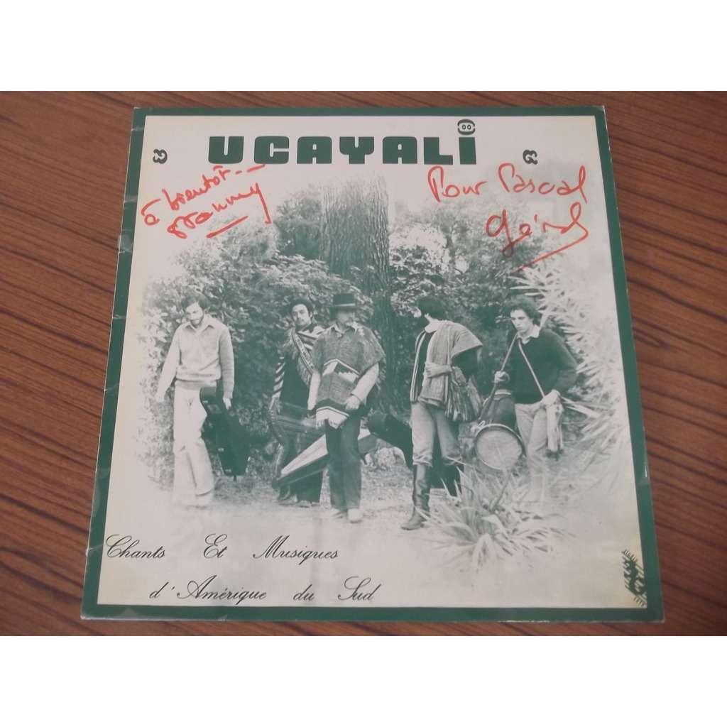 Ucayali chant et musiques d'Amérique du sud dedicaces