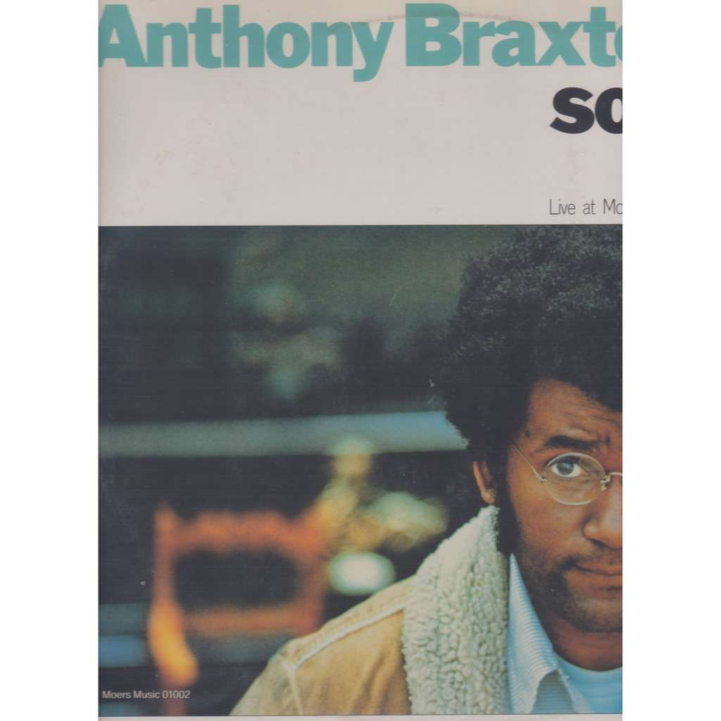 anthony braxton solo live at moers festival
