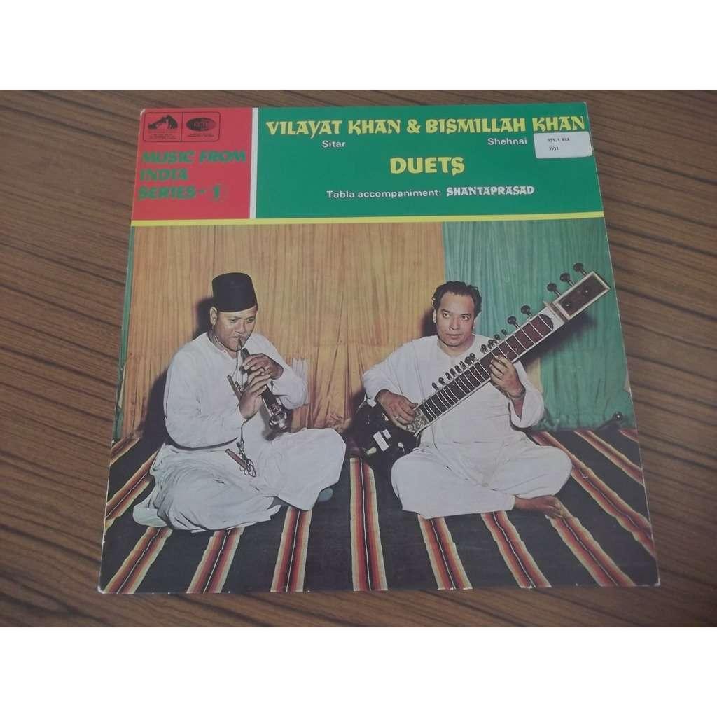 Bismillah Khan / Vilayat Khan / Shantaprasad Duets
