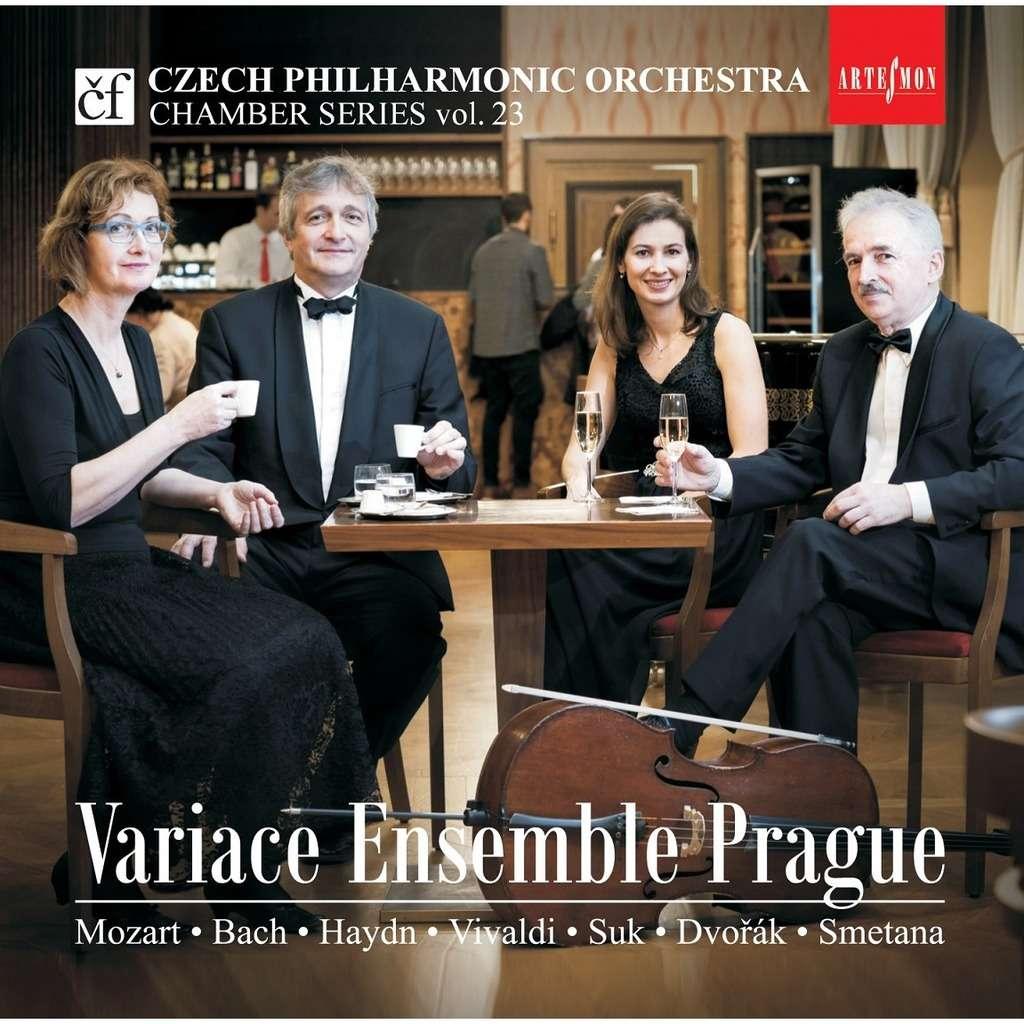 VIVACE ENSEMBLE PRAGUE Quatuors pour cordes et adaptations