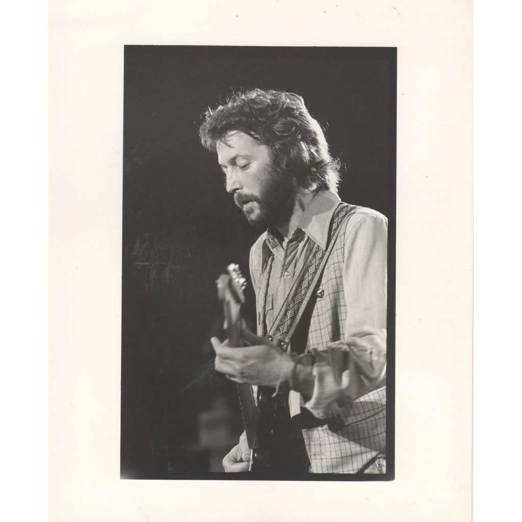 Eric Clapton Eric Clapton #2 (UK 1982 original 'London Features' promo photo by Charlyn Zlotnik !!)