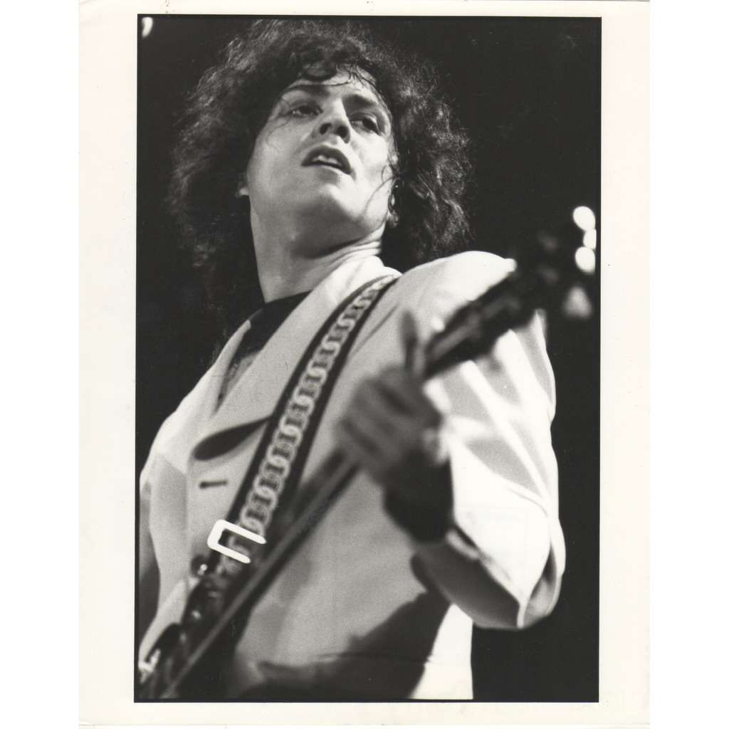 T.REX Marc Bolan #2 (Usa 70s original 'London Features' promo photo by Paul Canty !!)