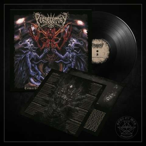 PERSECUTORY Towards The Ultimate Extinction. Black Vinyl