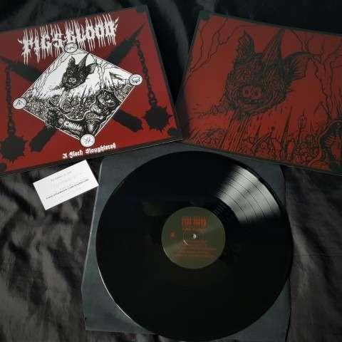 PIG'S BLOOD A Flock Slaughtered. Black Vinyl