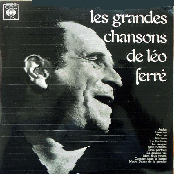 leo ferre Les grandes chansons de Léo Ferré