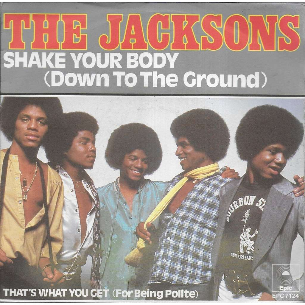 The JACKSON'S Shake your body