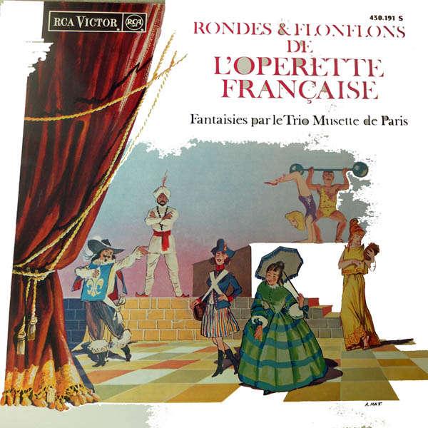 trio musette de paris Rondes et flonflons de l'opérette française..