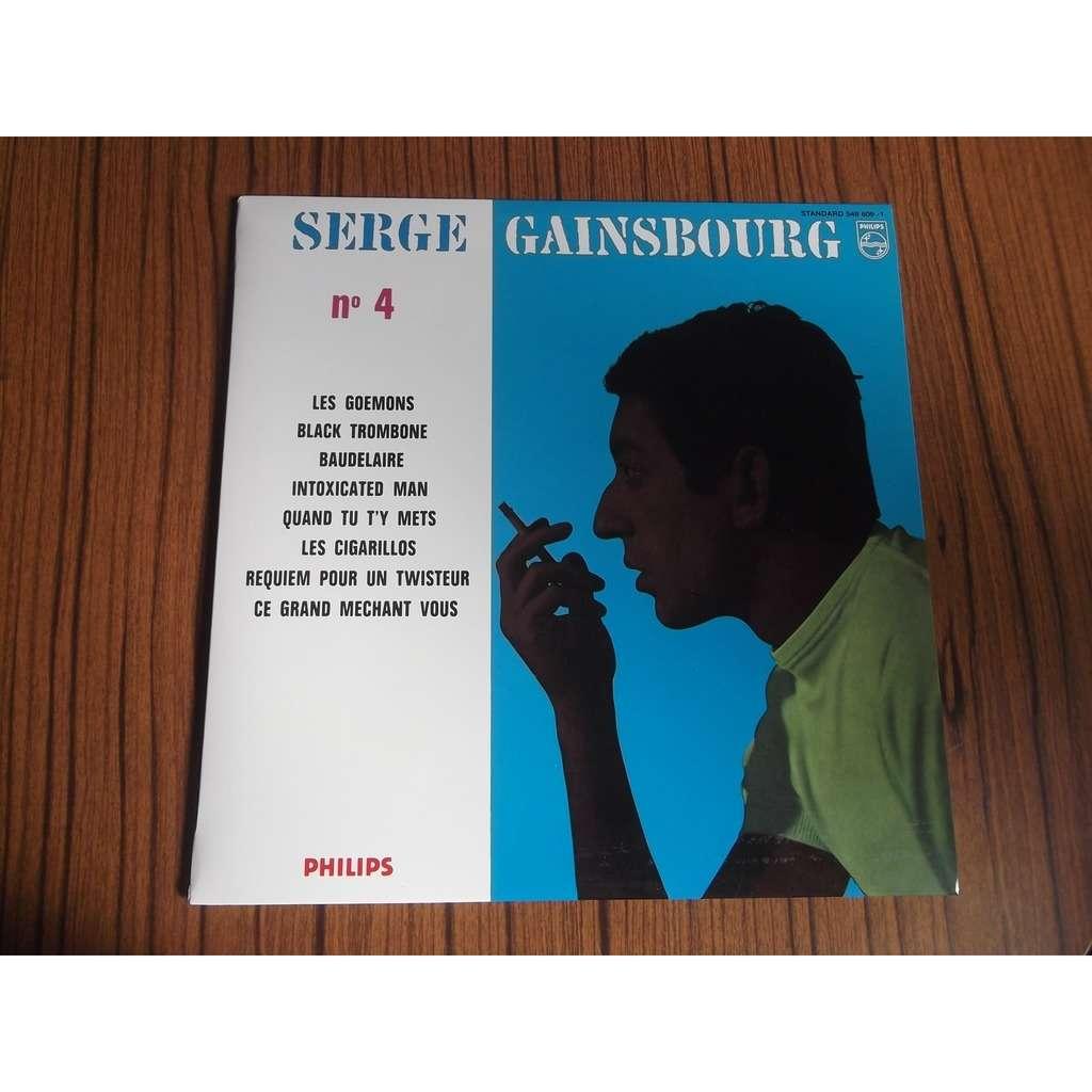 SERGE GAINSBOURG N° 4