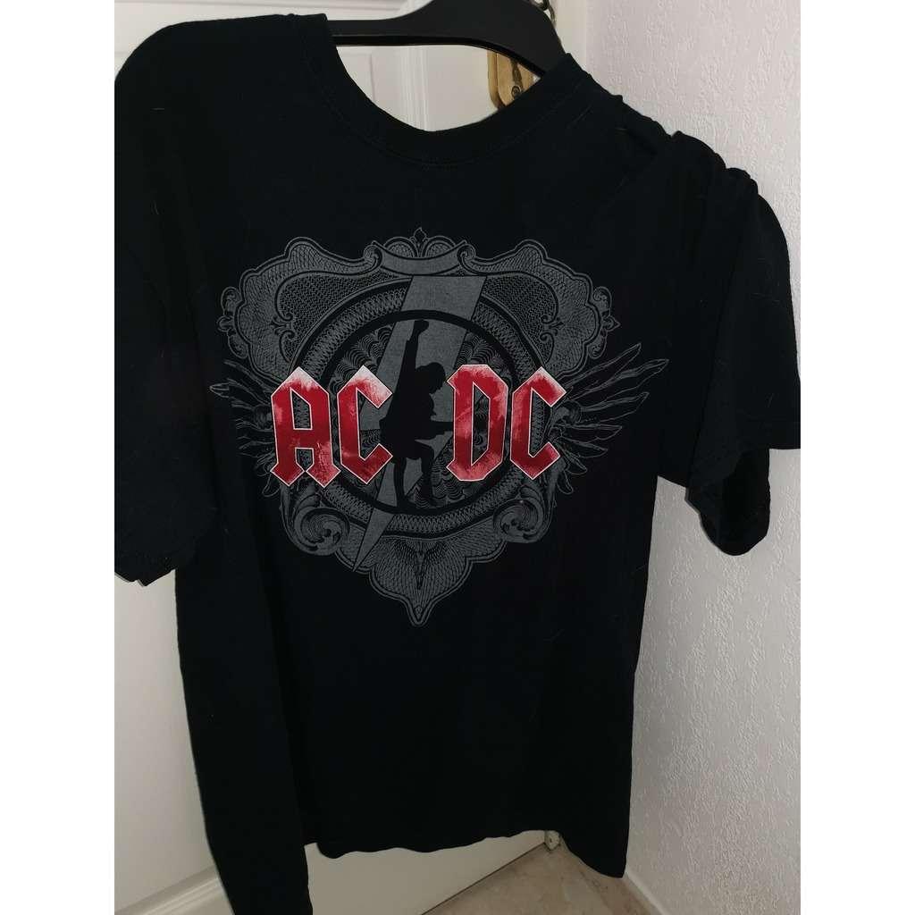 AC/DC tEE SHIRTS bLACK iCE TOUR 2009