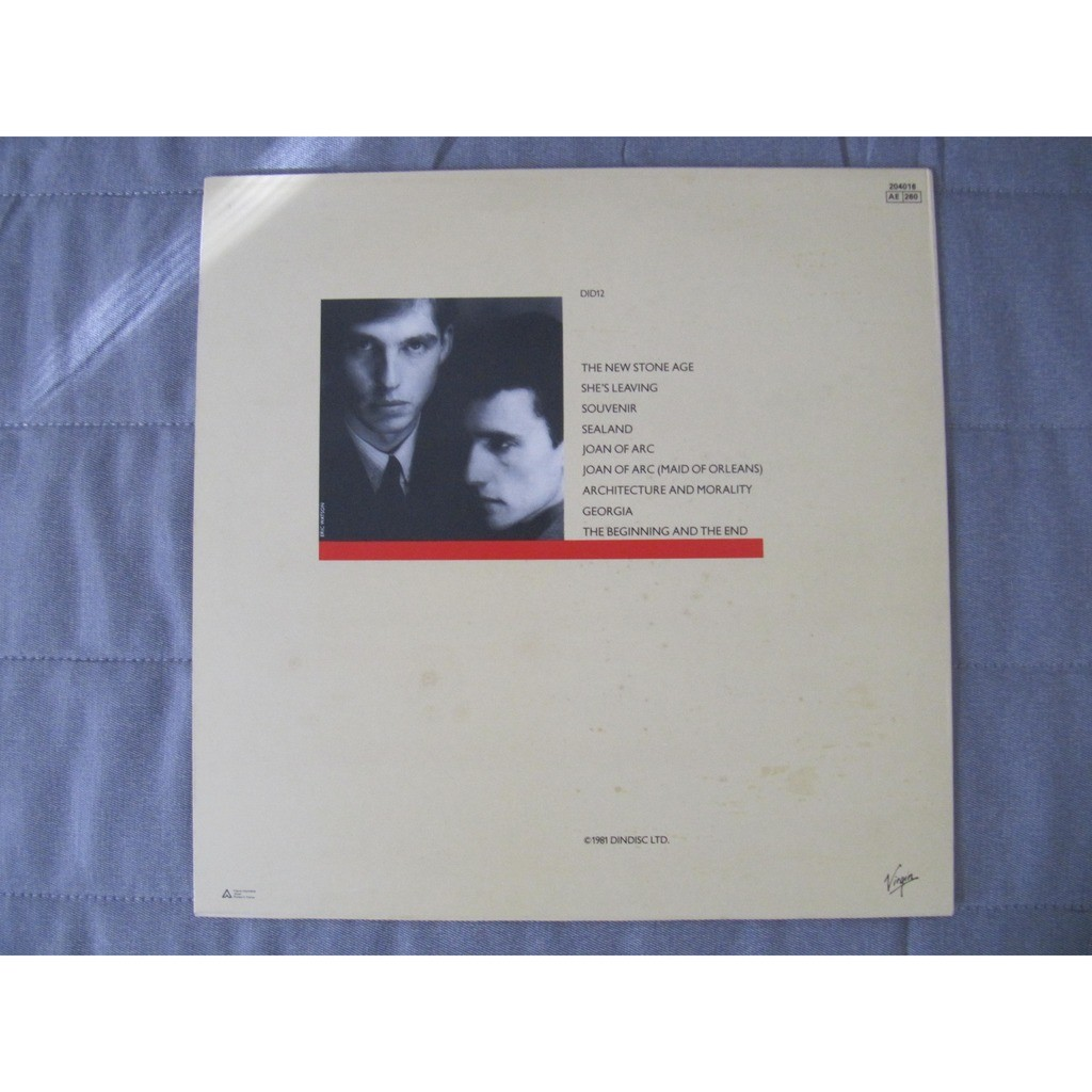 Orchestral manoeuvre in the dark Architecture & morality