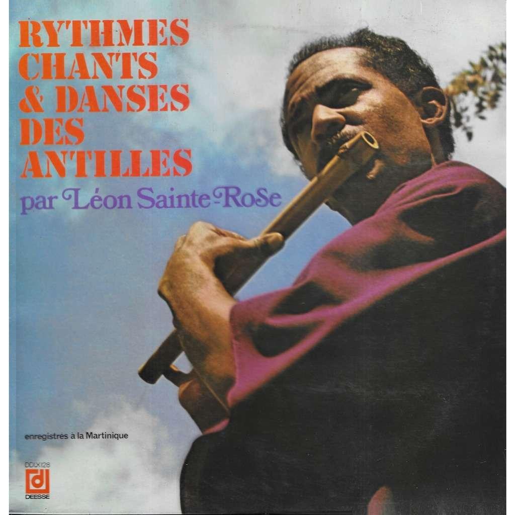 Léon SAINTE-ROSE Rythmes, Chants & Danses des Antilles