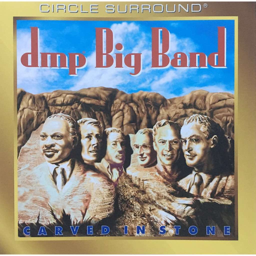 DMP BIG BAND - CARVED IN STONE (U.S. PRESSING 1 CD)