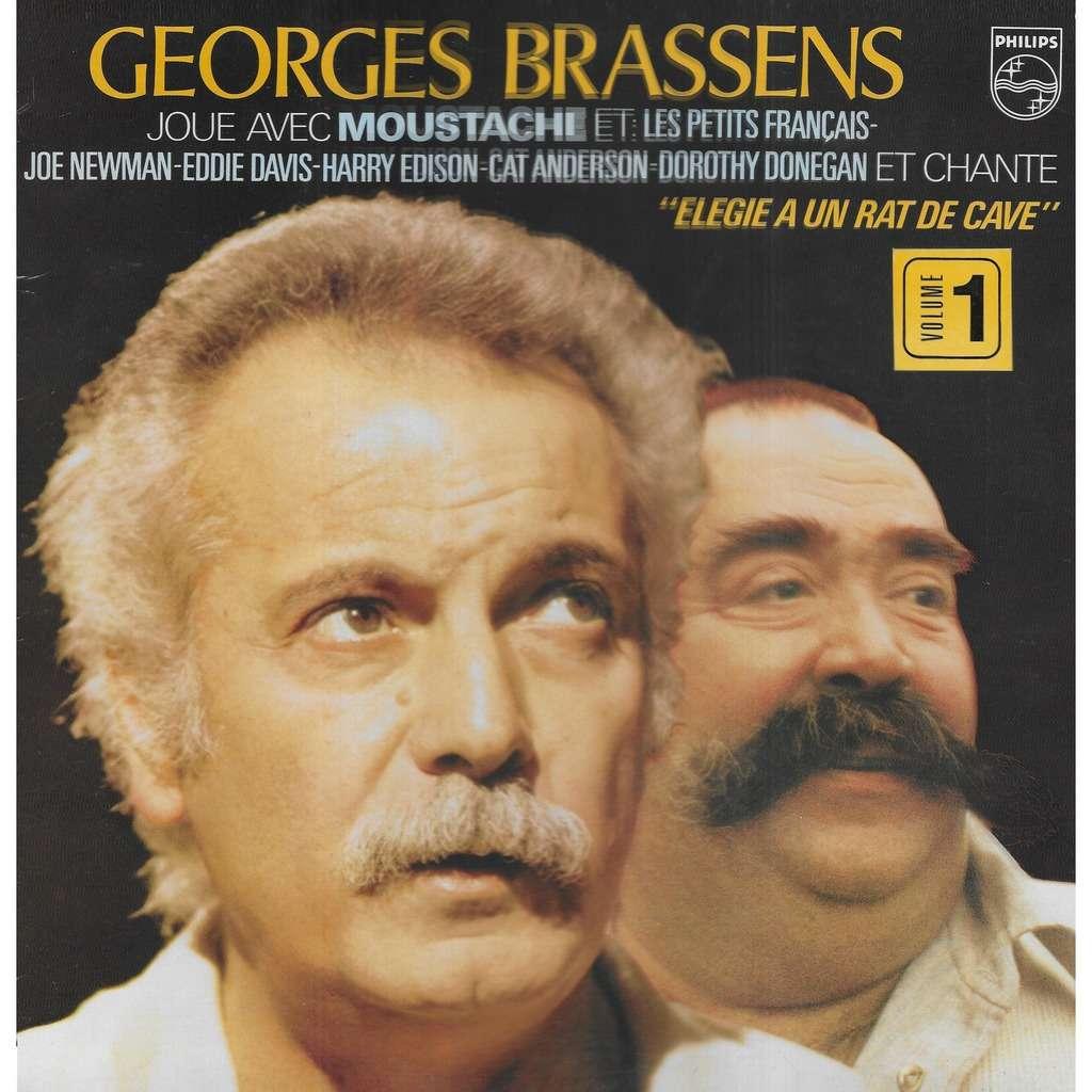 MOUSTACHE Georges Brassens Joue Avec Moustache, 1