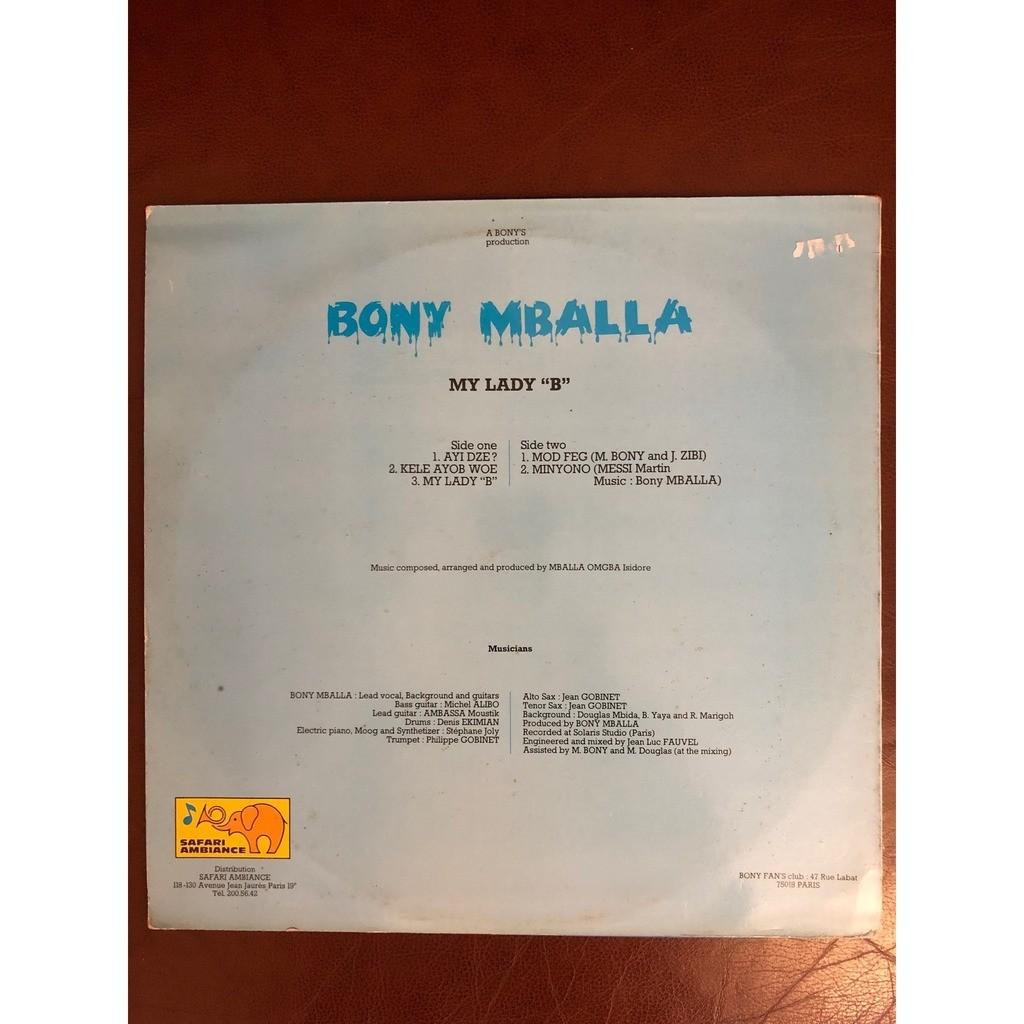 Bony Mballa My lady B