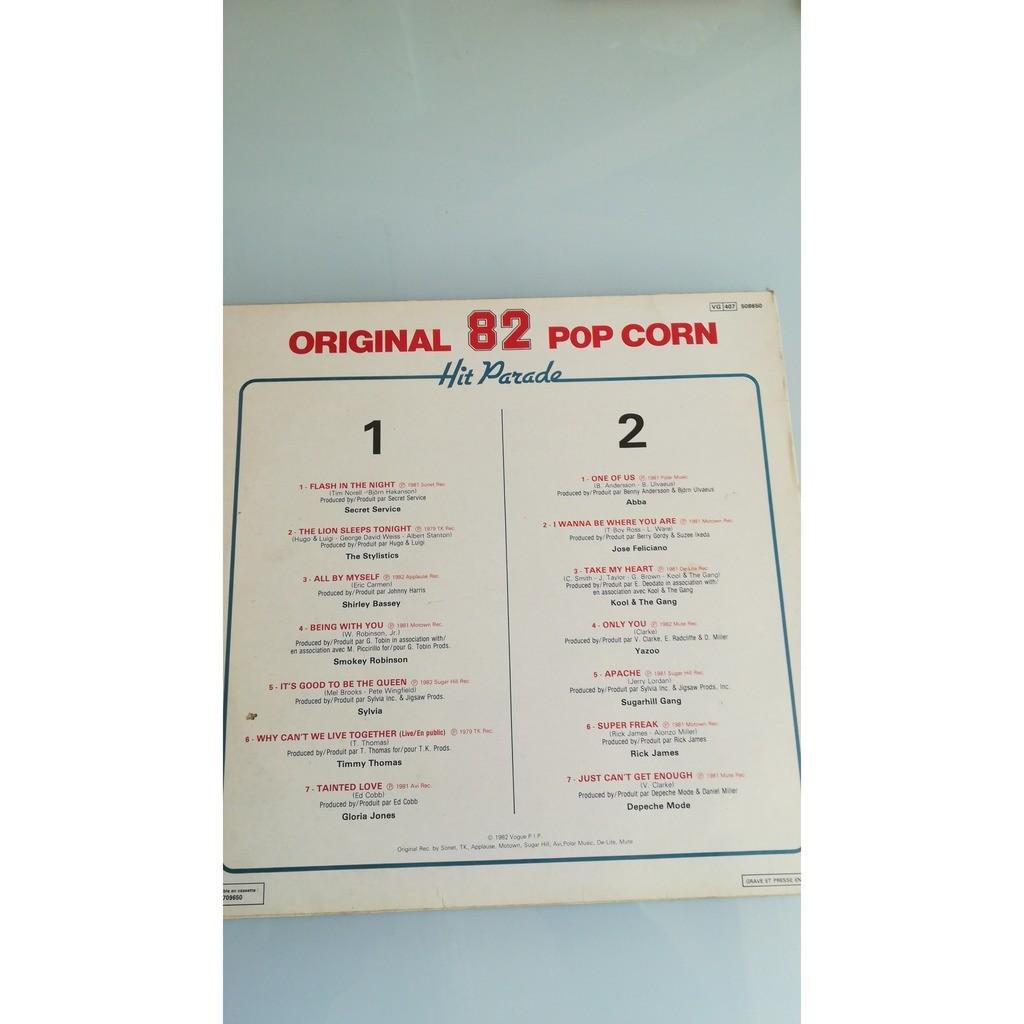 Original 82 Pop Corn Hit Parade Original 82 Pop Corn Hit Parade