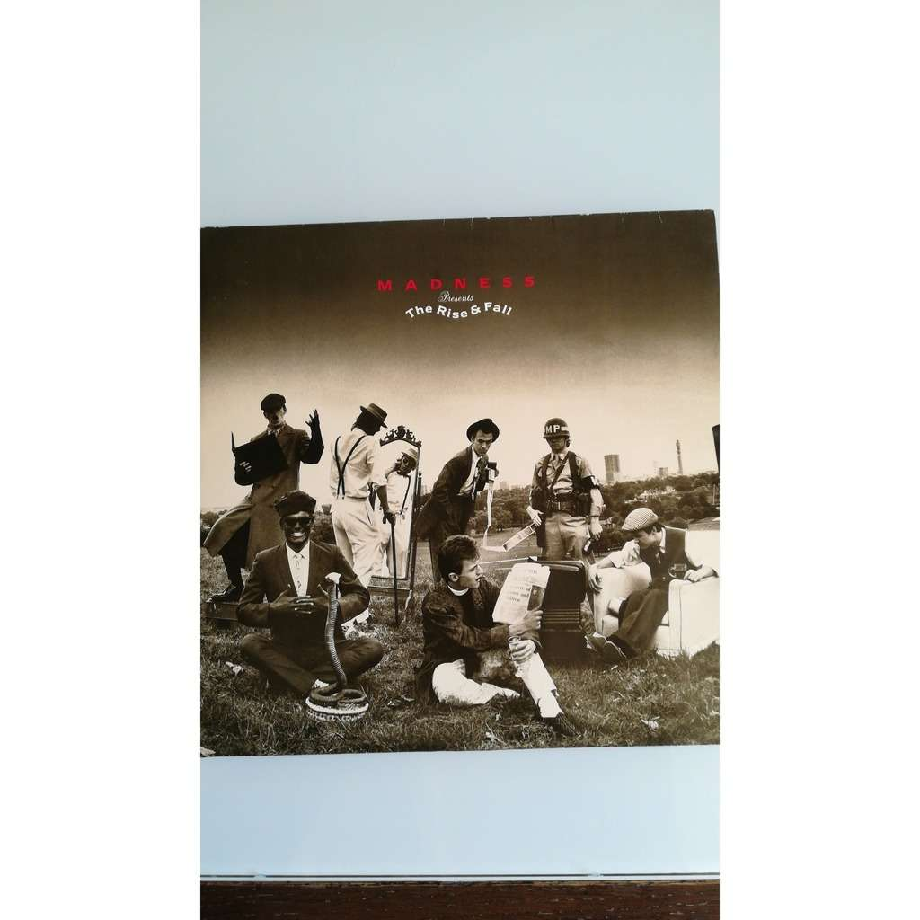 Madness The Rise & Fall (GATEFOLD COVER)